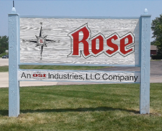 Rose Trusts Us for Sandblasted Wood Signs in Barrington, IL