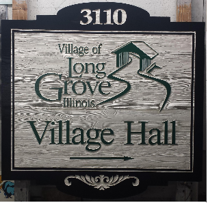 Detailed Sandblasted Wood Signs in Barrington, IL